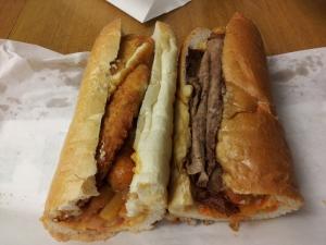 Hoagie Haven's Phat Lady sandwich