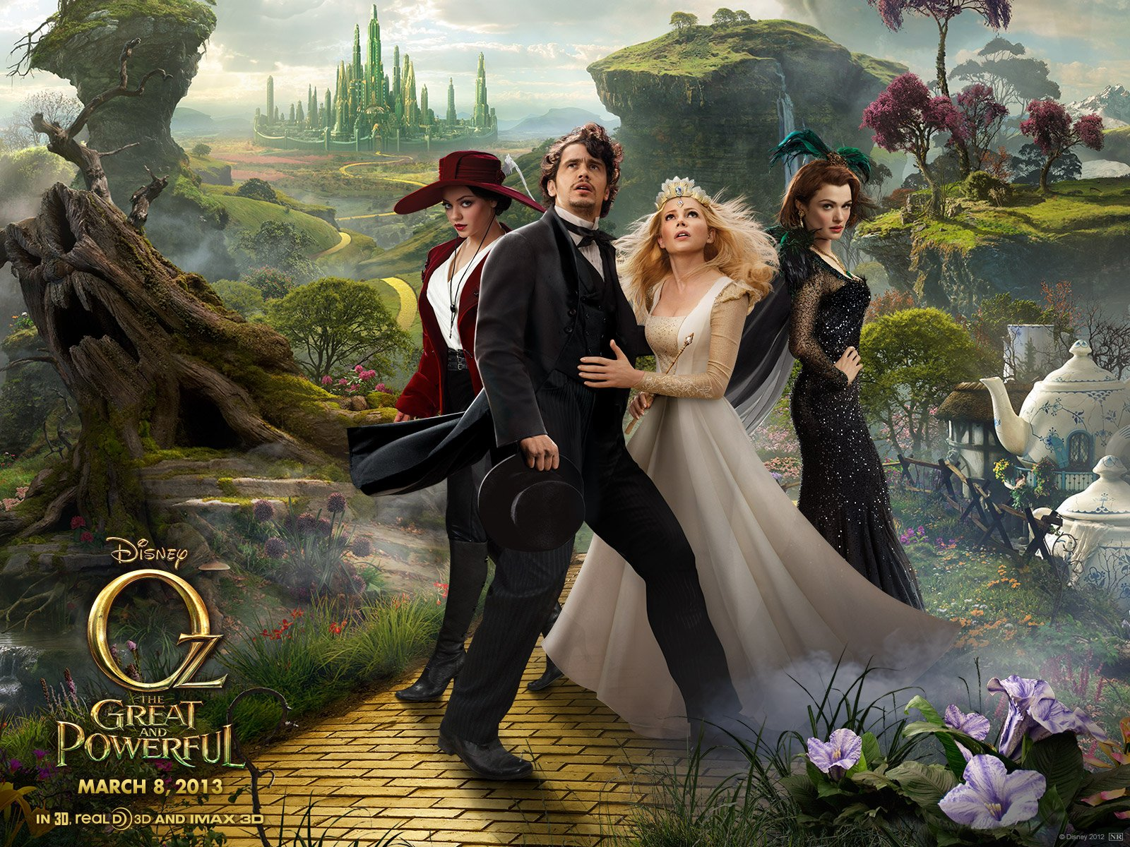 INTERSECTIONS: Film Review – 'Oz the Great and Powerful ... Oz The Great And Powerful Cast Oz