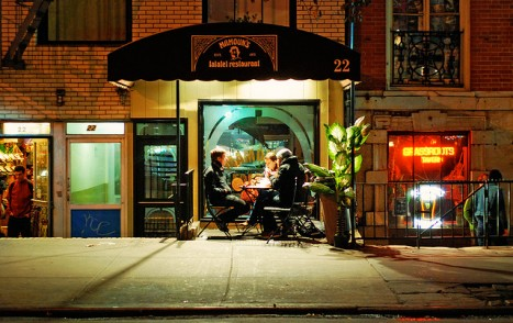 Mamoun's on St. Mark's. Photo by Flickr user moriza, licensed under Creative Commons.
